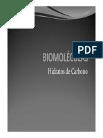 Biomoléculas I Carbohidratos y Proteínas 2011
