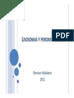 Lisosomas y Peroxisomas 2011