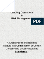 Introduction- Lending Operations & Risk Management-Lecture-1