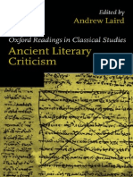 Ancient Literary Criticism
