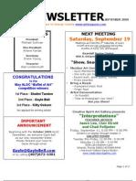 September 2009 ALOC Newsletter-1