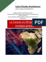 2012 Marie Pannetier Turquie en Afrique