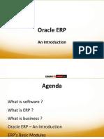 Oracle ERP - Basics