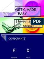 Phonetic Made Easy