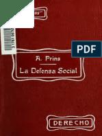 La Defensa Social y 00 Prin