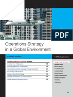 Operations Startegy in Global Environment