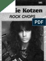 [GUITAR] Richie Kotzen - Rock Chops Tab Book