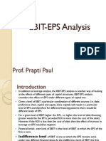 Ebit Eps Analysis