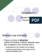 Gravitation I