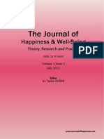 The Journal of Happiness & Well-Being