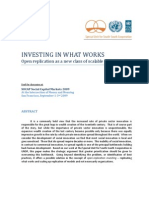 UNDP Investing in What Works