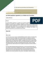Weise - Los Mitos Populares Argentinos y su Relación con el Sacrificio