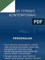 TEORI FEMINIS