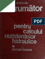 I.E. Idelcik - Indrumator Pentru Calculul Rezistentelor Hidraulice