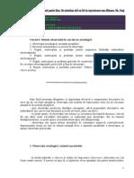 CURSUL 6. Metoda Observatiei in Cercetarea Sociologica