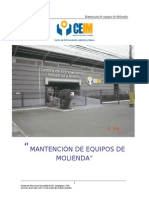 1 OK MANUAL DE MANTENCIÓN  DE EQUIPOS DE MOLIENDA