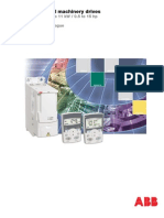ACS350 ABB General Machinery Drives Technical Catalogue REV D en 22 11