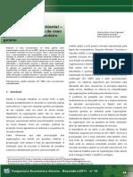 Sistema de gestão ambiental Sucroalcooleiro