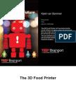 TNO Food Printer