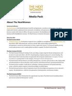 TheNextWomen Media Pack Jan 14