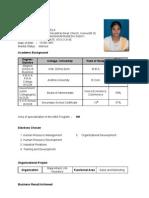 Suseela Resume