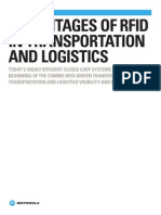 Motorola RFID Transportation Logistics White Paper