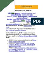 Econometric Links