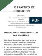 CURSO PRÁCTICO  DE  TRIBUTACION