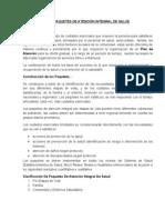 PAQUETES DE ATENCIÓN INTEGRAL DE SALUD POR ETAPAS DE VIDA