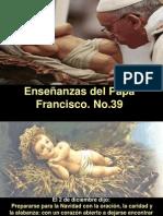 Enseñanzas del Papa Francisco - Nº 39