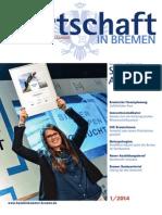 Wirtschaft in Bremen 01/2014 - Siegertypen-Wettbewerb