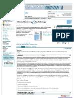 The Mini Questionnaire of Personal Organization (MQPO)