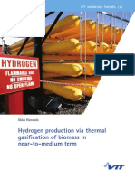 H2 via Biomass