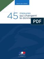 NVBAJMA Droits Des Femmes 45 Mesures Qui Changent La Donne Dossier de Presse 2
