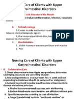 Upper Gastrointestinal Disorder 1