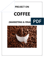 Coffee Project Marketing and Finance