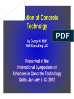Hoff-Evolution of Concrete Technology