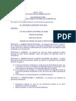 Ley 3791 Renta Universal de Vejez