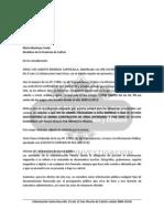 Carta a Maria Montoya Sobre Peru Lng