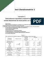 Dendrometrie.proiect