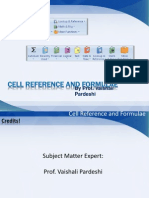 8 Cell Ref and Formulae