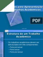 Área Projecto - Metodologia Trabalho Académico