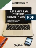 Guía básica para Periodistas Community Manager