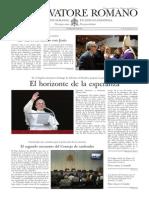 L´OSSERVATORE ROMANO - 06 Diciembre 2013