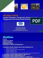 Pedoman Teknis Elpiji - Presentasi