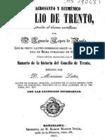 Sacro Santo Con Cilio de Trento