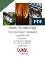 Pelletisation  Plant Samarco Case