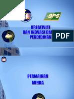Slot 4 - Kreativiti