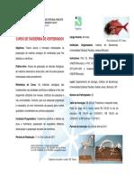 Folder - Curso de Taxidermia de Vertebrados-2011[1]