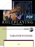 Tabletop RPG Elements